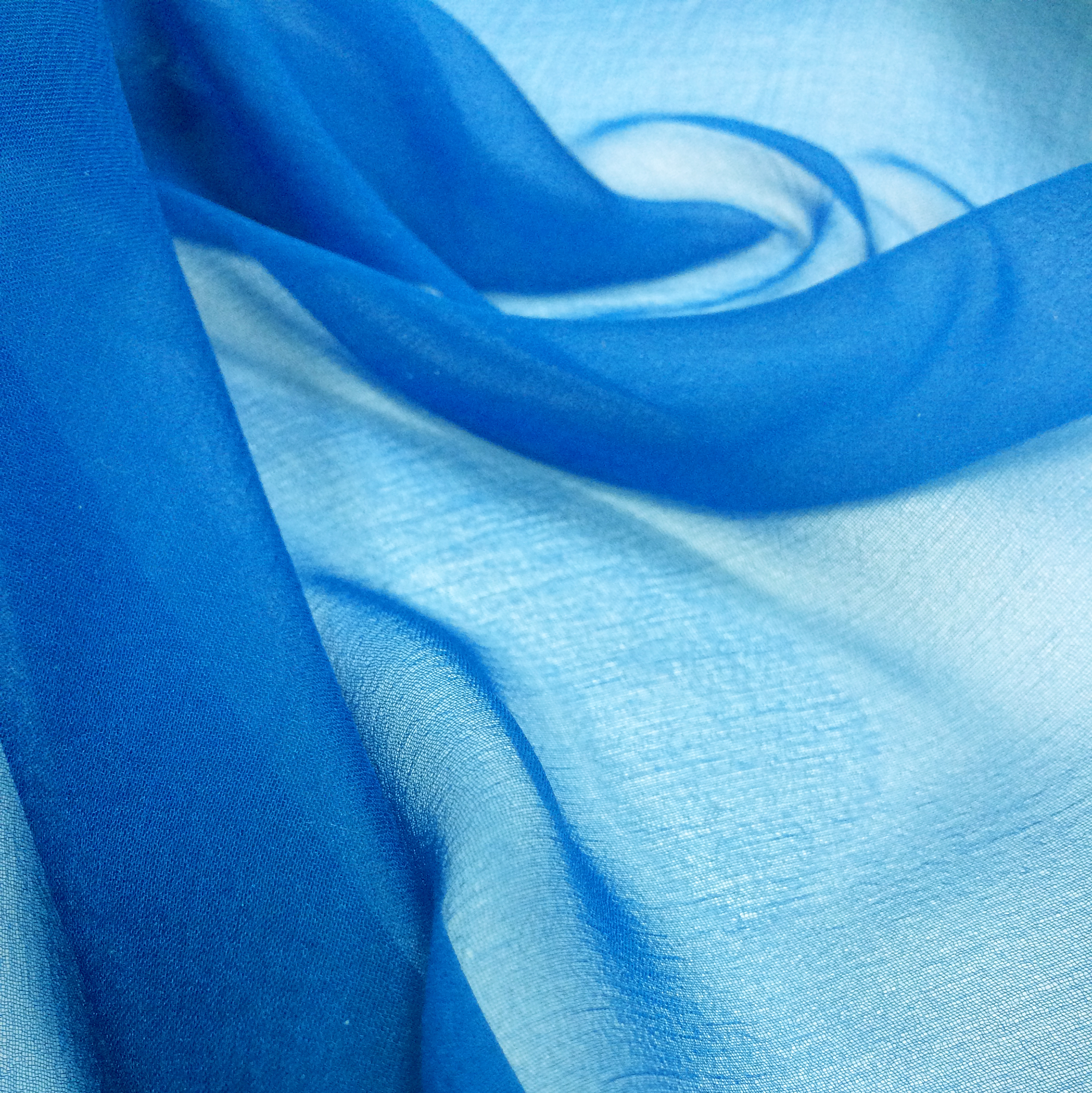 FRENCH CHIFFON PLAIN DYED